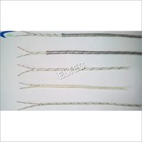E TYPE FIBBER GLASS THERMOCOUPLE WIRE