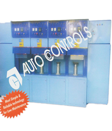 Four head induction brazing machine.