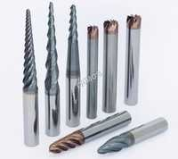 Tapered End Mill - Solid Carbide HSS Endmill