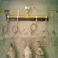 Oxygen  Gas Manifold with Isolators