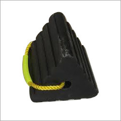 Triangular Shape Rubber Wheel Chock