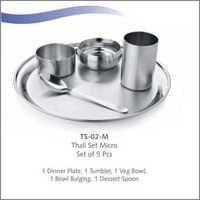 THALI SET-5 PCS -ROYAL