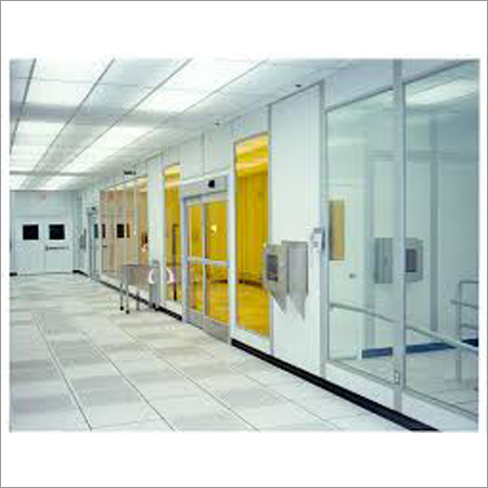 Modular Clean Room Partitions