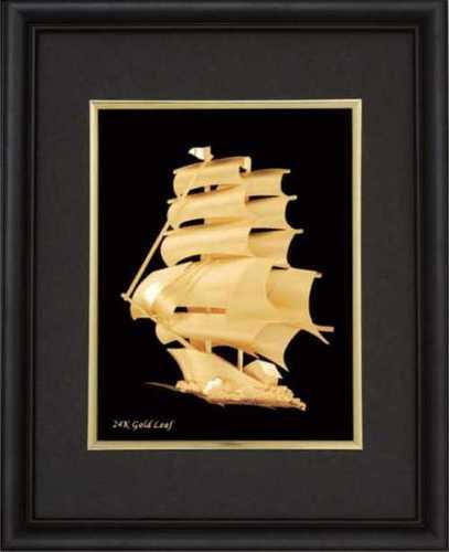 Small 3D --- (Black Sail Boat)