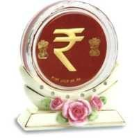 Paper Weight With Stand (Rupee Symbol)