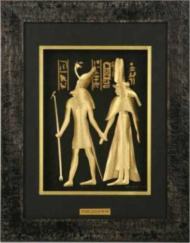 3D-(Egyptian Couple)