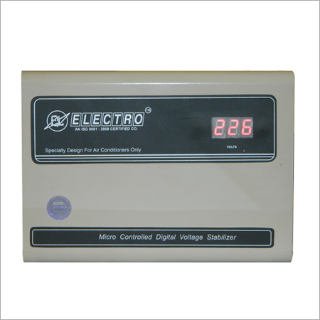 Micro Controller Based Voltage Stabilizers