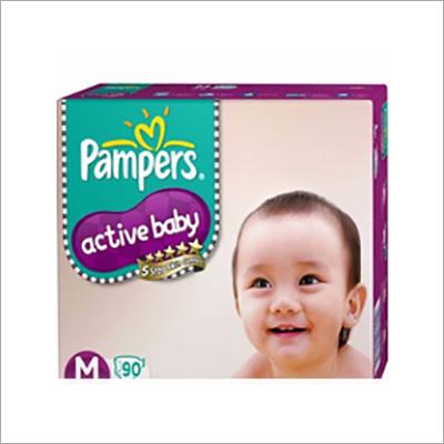 Pampers Active Baby Medium