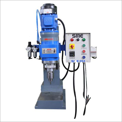 Foot Pedal Operated Riveting Machine