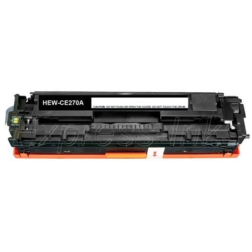 HP Color Laserjet CE270A Toner Cartridge