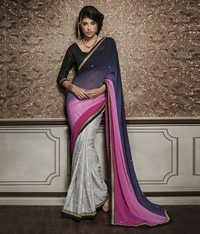 Multi Design Fancy Saree