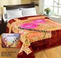 Butterfly Mink Blankets