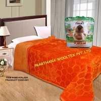 Plain Embossed Mink Blankets