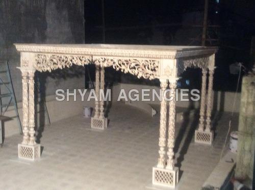 2 Pillar Wedding Mandap