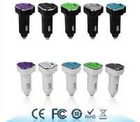 3.4A 4-Port USB Car Charger with Smart Identification Technology