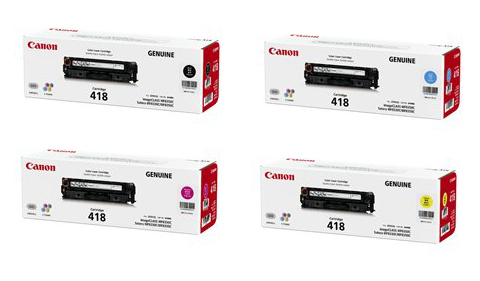 Canon Color Laserjet 418 Toner Cartridge