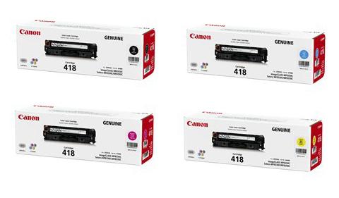 Canon Color Laserjet 418 Toner Cartridge