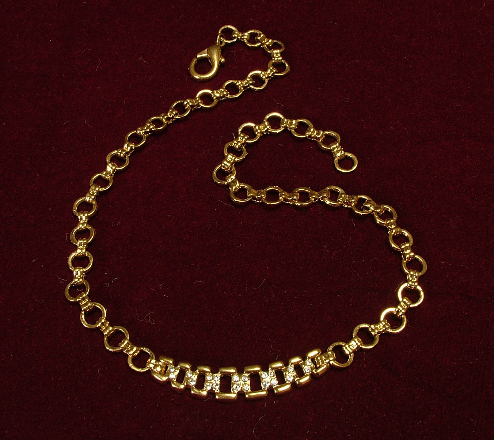 itm clasp link men real solid inch cuban chain necklace chains w miami gold
