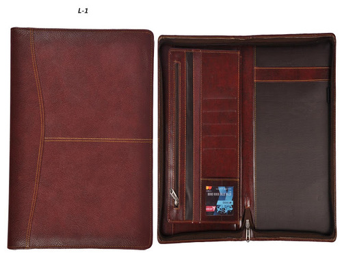 Customised Leather Folder