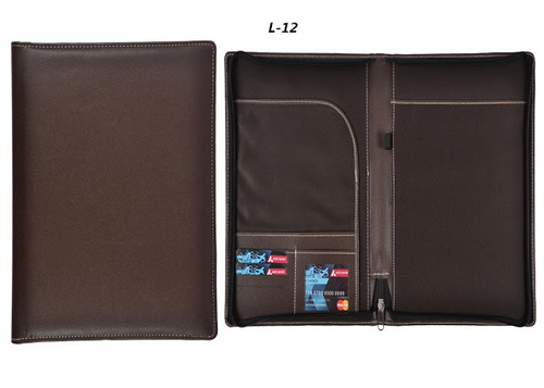 Brown Leather Folder