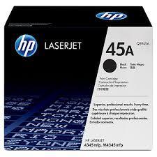 HP 45A Black Original LaserJet Toner Cartridge (Q5945A)
