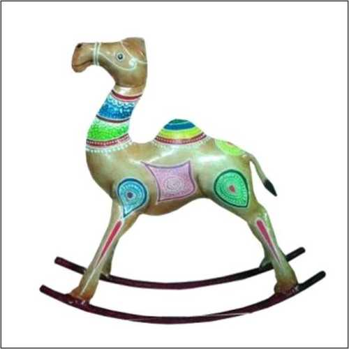 Hand Crafted Rocking Camel