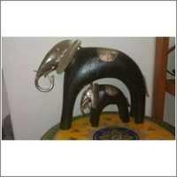 Elephant Iron Wood Set