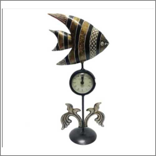 Table Top - Fish With Clock