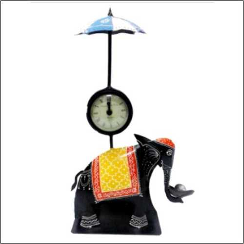 Elephant Umbrella With Clock & T-Lite