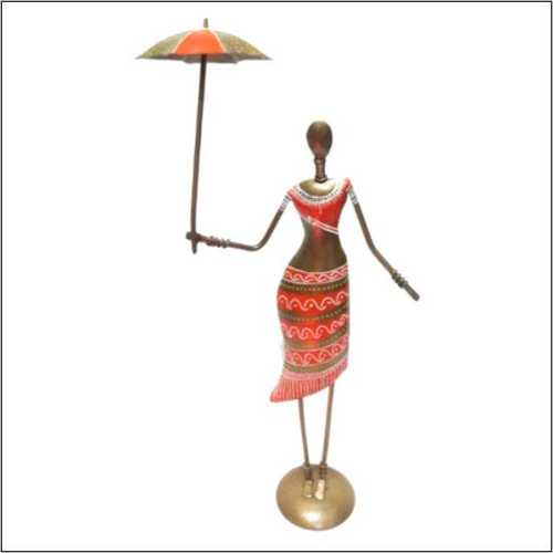 African Lady Series with Umbrella