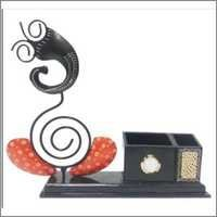 Ganesh Penstand with Clock
