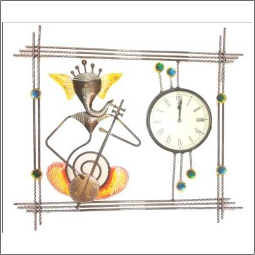 Ganesh Wall Hanging Clock