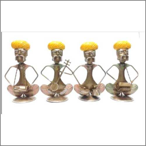 Rajasthani Musician Small Set - 4