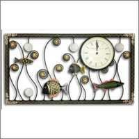 Rectangle Clock Fish Design