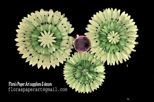 Decorative handmade paper flower