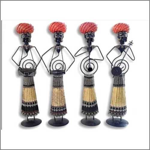 Rajasthani Musician Standing Set - 4