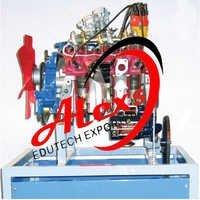 Multi Cylinder Four Stroke Petrol Engine