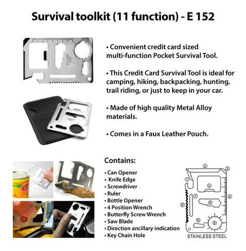 Survival Toolkit (11 function)