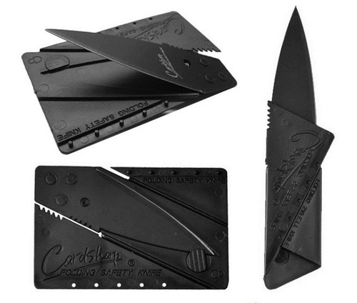 Card Sharp Knife