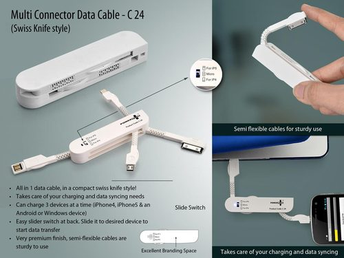 Swiss Knife Type Data Cable