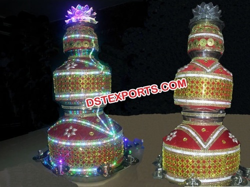 Punjabi Wedding Decorated Led Jagos