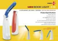 Mini Book Lights