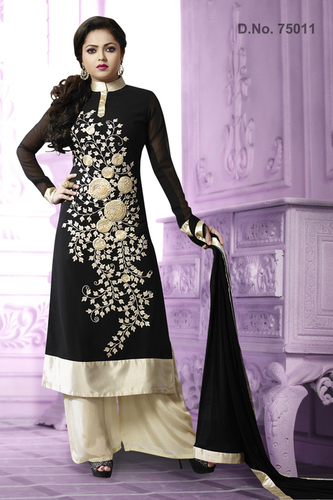 Georgette Anarkali Salwar Suit