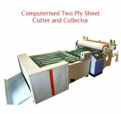Computerised Two Ply Sheet Cutter and Collector