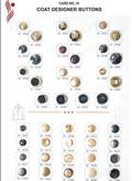 Coat Designer Buttons