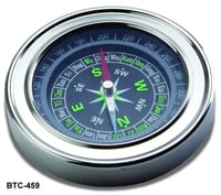 Magnetic Compass & Hand Tally Counter Combo Of 2