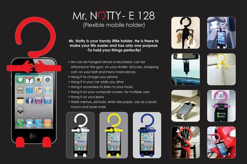Mr. Notty: Flexible mobile holder (multipurpose)