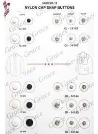 Nylon Cap Snap Buttons