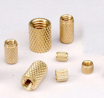 Brass Knurling Round Inserts Nut