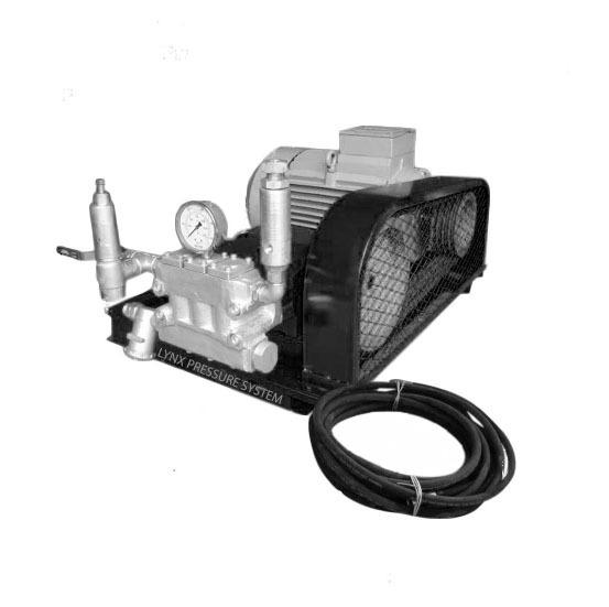 Triplex Plunger Water Jetting Pump